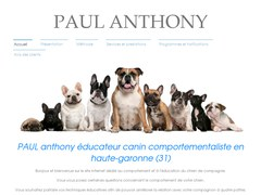PAUL Anthony specialiste de l'education et du comportement canin